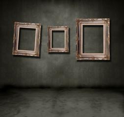 Frames dark room