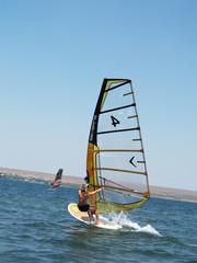 windsurfing crimea