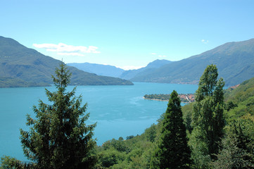Blick auf den Lago di Como