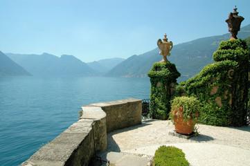 Blick von der Villa Balbianello