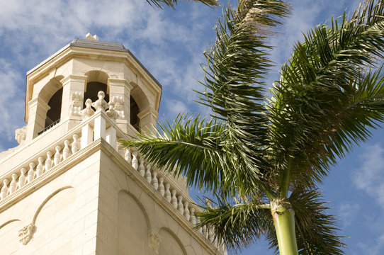 Spanish Style Church in West Palm Beach