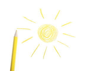 Yellow Pencil, The Sun