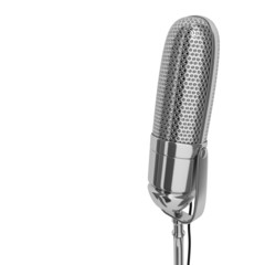 microphone silver
