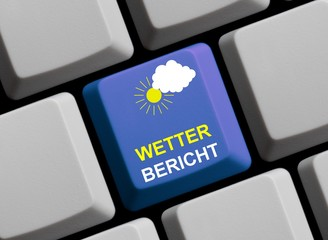 Wie wird das Wetter? Wetterbericht online