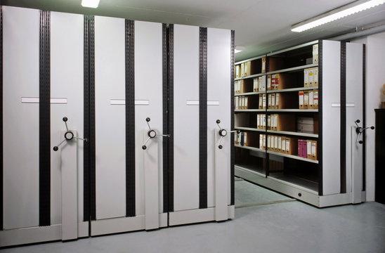 salle d'archives