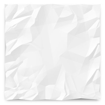 Wrinkled Paper Background 1