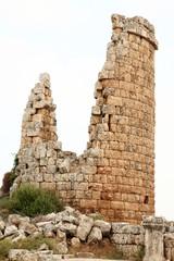 Ancient tower ruins.
