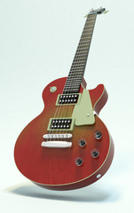 guitar custom bianco