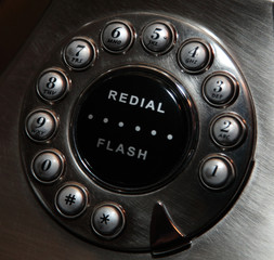Rotary Button Phone Dial