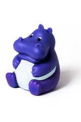 rubber hippopotamus
