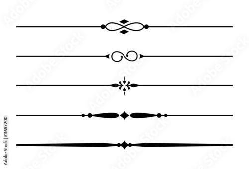 5 dividers trennlinien und zierlinien mit ornamenten 1 stockfotos und lizenzfreie vektoren. Black Bedroom Furniture Sets. Home Design Ideas