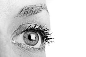Bright Female's Eye