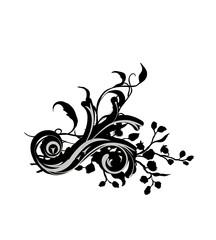 floral element -  vector