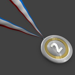 silvermedal for an award