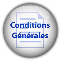 """Bouton """"Conditions Générales"""" (blanc/bleu)"""