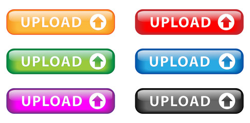"""Upload"" buttons (various colors)"