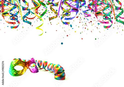 """party, fete, karneval, geburtstag - einladungskarte"""" stockfotos, Einladungen"""