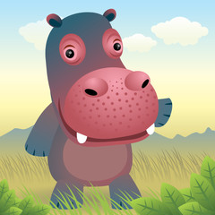 Baby Animal collection: Hippo. More animals in my gallery.