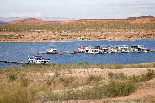 Hausboote - Lake Powell Page Arizona USA