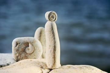 Warm stones