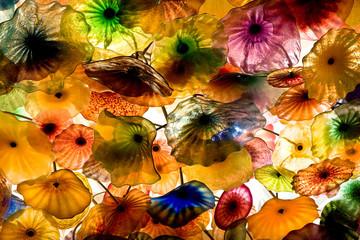 Glass umbrellas