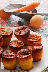 Tortine di carote e mandorle - Dolci della Lombardia