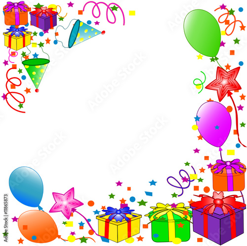 """Happy Birthday background"" Stock image and royalty-free ..."