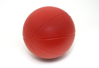Isolated Toy Basketball