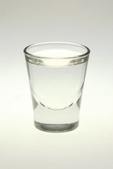 glass with liqiud