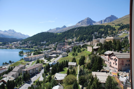 Sommer in St. Moritz
