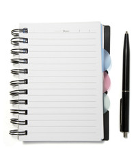 notebook empty