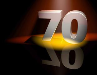 70 celebration birthday