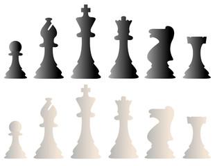 Schach, Schachfiguren