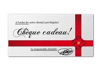 Chèque cadeau fidélité
