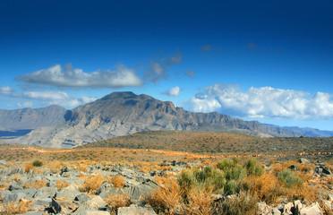 mountains of Oman