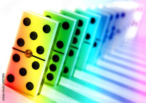 Fichas de domino fotos de archivo e im genes libres de for Fichas de domino