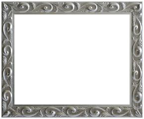 Silver Aged Vintage Picture Frame