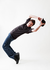 breakdancer with hat