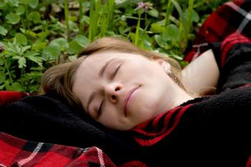 Asleep beauty