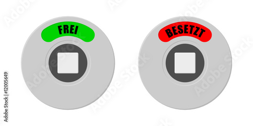 Toilette Frei Besetzt Stock Image And Royalty Free Vector Files On