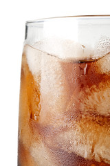 Cold fizzy cola