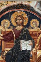 Painting on the Great Meteoron monastery