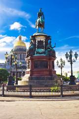 Fotomurales - Nicolas I monument