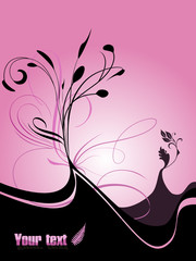 fresh floral background