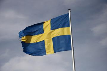 schwedische Fahne/ swedish flag