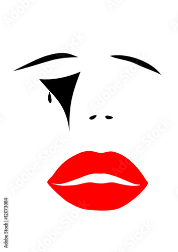 Trauriges Gesicht Stock Image And Royalty Free Vector Files On