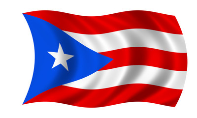 puerto rico fahne flag