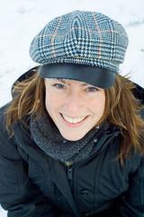 Fototapeta snow smile obraz
