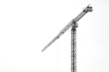 crane isolated