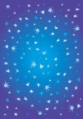 The star sky